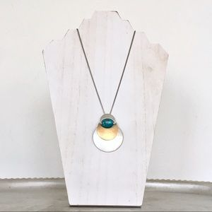 Marjorie Baer Turquoise Artisan Necklace